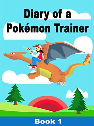 amazon diary of a pokemon trainer book 1 72 pages of pokemon