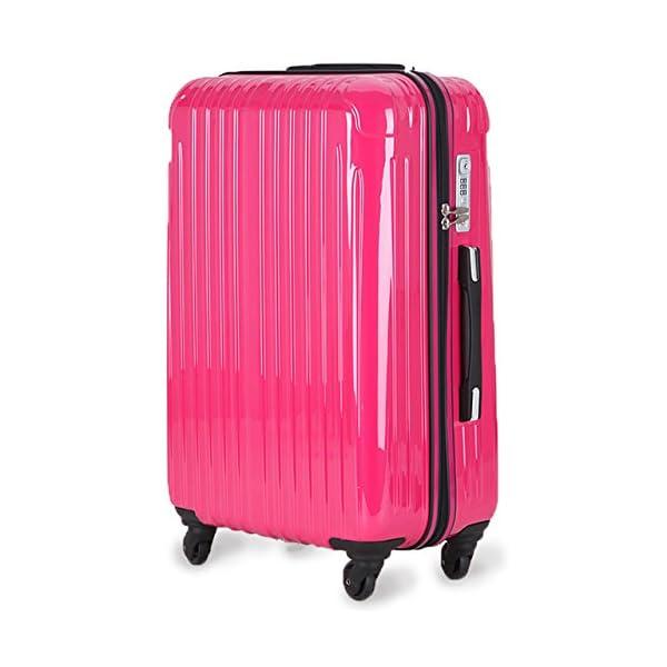 超軽量 2年保証 スーツケース TSAロック搭載...の商品画像