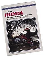クライマーRepair Manual for Honda 50–110OHC Singles 65–99