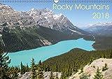 Rocky Mountains 2018 (Wandkalender 2018 DIN A3 quer) Dieser erfolgreiche Kalender wurde dieses Jahr mit gleichen Bildern und aktualisiertem Kalendarium wiederveroeffentlicht: Die schoensten Orte in den Rocky Mountains zwischen Columbia und Idaho (Monatskalender, 14 Seiten )