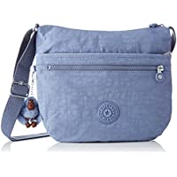 (Blue (Timid Blue C)) - Kipling Women's Arto Cross-Body Bag