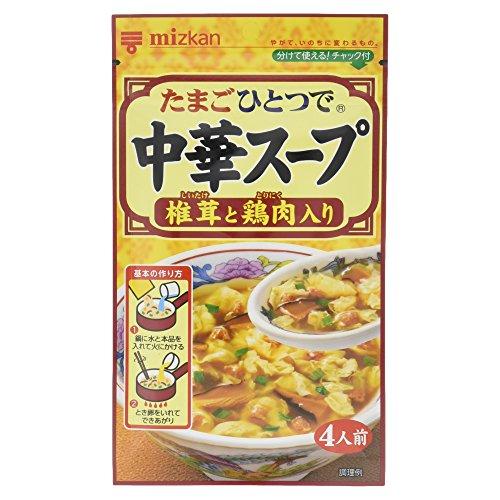 ミツカン 中華スープ 椎茸と鶏肉 35g