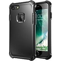 iPhone 7 ケース i-Blason 4.7インチ 軽量 スリム 衝撃吸収 2層構造 [米軍軍事規格 ソフト TPU] (ブラック)