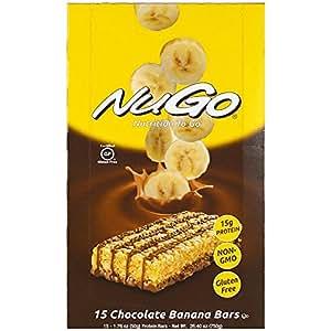 オーガニック プロテインバー(低糖質・低脂肪・グルテンフリー)(チョコレートバナナ)(50g✕15本)[海外直送品]