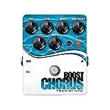 Tech 21Boost Chorus ブースト機能搭載 ギター用アナログ・コーラス・エフェクター 【国内正規品】