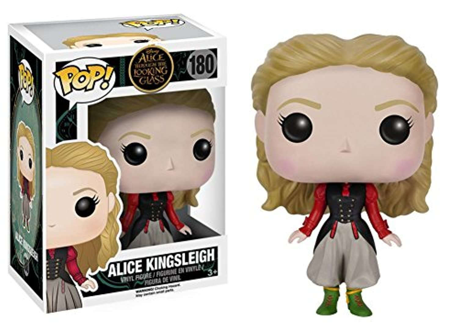 Alice Through the Looking Glass – アリスのアリス) Pop Figure Toy 3 x 4 in