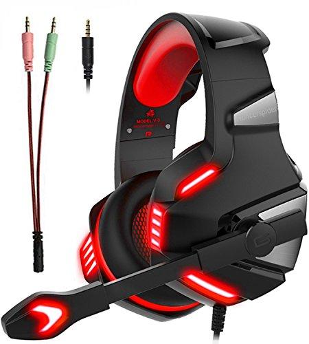 Micolindun V3 ゲーミングヘッドセット PS4 ヘッドホン ゲーミング PC FPS ゲ...