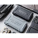 for Sony Walkman NW WM1A WM1Z Rugged Shockproof Armor Case Cover (Black)