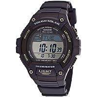 Casio Men's WS220-2AV Blue Dial Solar Power Digital Quartz Watch
