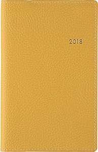 高橋 手帳 2018年 1月始まり ウィークリー ティーズビュー8 フレッシュイエロー No.176