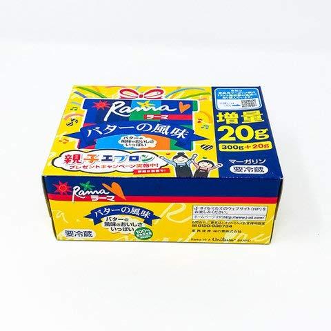 Jオイルミルズ ラーマ バターの風味 300g 【冷凍・冷蔵】 10個
