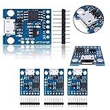 HiLetgo Digispark Kickstarter Attiny85 マイクロ USB 開発ボード Arduino ATtiny MCUに対応 (3個セット) [並行輸入品]