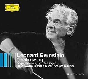 "Tchaikovsky: Symphonies Nos. 4, 5 & 6 / ""1812"" Overture / Romeo & Juliet / Francesca da Rimini"