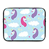 GOYARD ZMviseUnicorn Art Protective Slim Padded Laptop Soft Neoprene Sleeve Bag Case Cover for Notebook iPad Tablet Computer