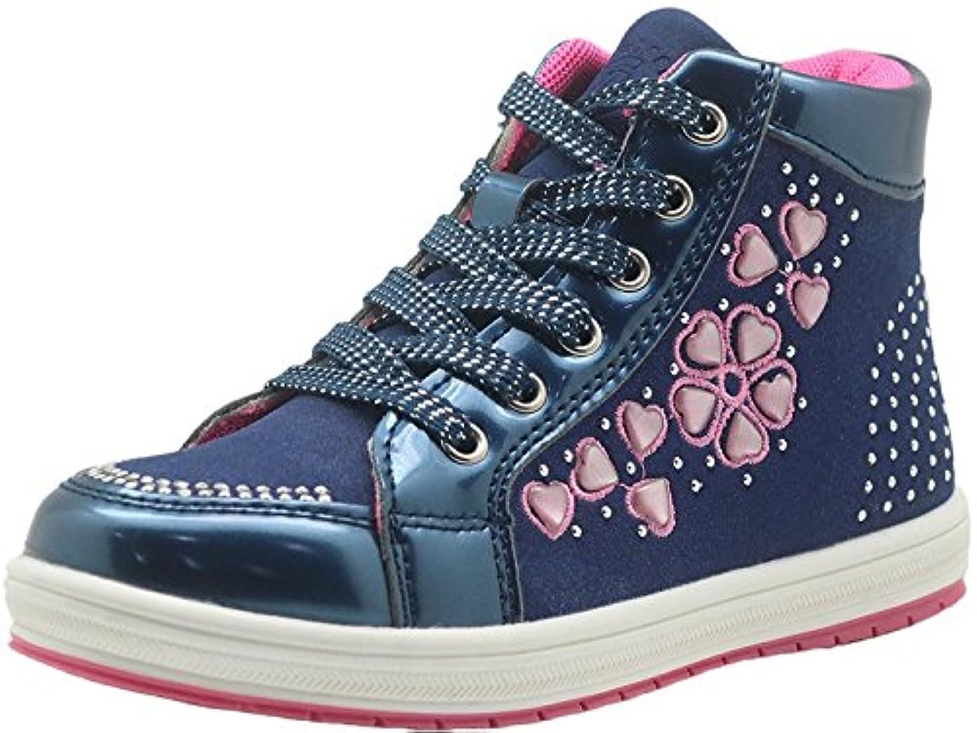 冷笑するカンガルー製油所Sunny&Baby 幼児ファッション靴リトルキッドレースアップジッパーの女の子のラインストーンとアンクルブーツ 滑り止め ( Color : Blue , Size : 17.5 CM )