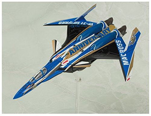 青島文化教材社 VFG マクロスデルタ VF-31J ジークフリート 35周年アニバーサリー 全高約155mm 色分け済みプラモデル MC-02