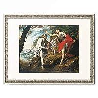Giovanni Battista Crespi 「The Baptism of Christ. 1601」 額装アート作品