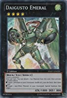 Yu-Gi-Oh! - Daigusto Emeral (HA07-EN020) - Hidden Arsenal 7: Knight of Stars - 1st Edition - Secret Rare