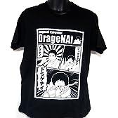 ヲワタTシャツ 時事ネタ ショゲナイ!メゲナイ!ドラゲナイ!! (L, 黒)