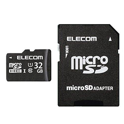 エレコム microSDHCカード 32GB UHS-I対応...