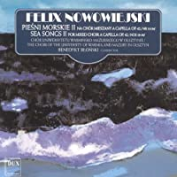 Sea Songs for Mixed Choir 2 by F. Nowowiejski