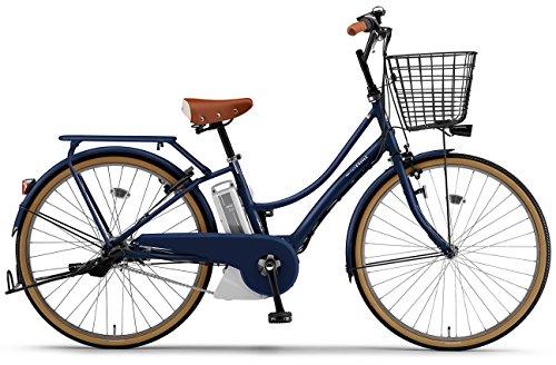 YAMAHA(ヤマハ) 電動アシスト自転車 2017年モデル PAS Ami 26インチ [高容量12.3Ahバッテリー,液晶5ファンクションメーター搭載] PA26CGA7J マットネイビー