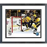 Patric Hornqvist Pittsburgh Penguins 2017 Stanley CupゲームWinning Goalアクション写真(サイズ: 22.5