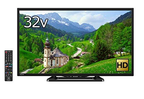 シャープ 32V型 液晶 テレビ AQUOS LC-32E40 ハイビジョン 直下型LEDバックライト 外付HDD対応 (2017年モデル)