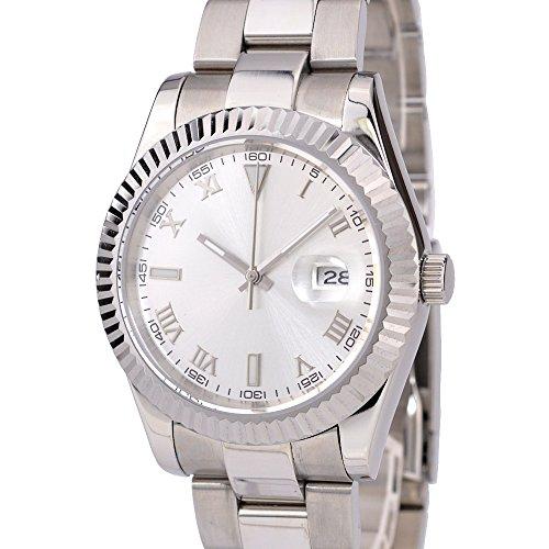 ノーロゴ 腕時計 自動巻き デイトジャスト NL-038SW3AS-A [並行輸入品]