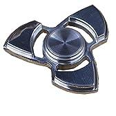 JP-KIBOU 指スピナー おもちゃ ハンドスピナー 強く回転 セラミックのボールベアリング 指先3-6分高速スピン ステンレス(三翼)
