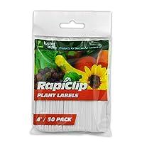 Luster Leaf Rapiclip 4-Inch Garden Plant Labels - 50 Pack 827 [並行輸入品]