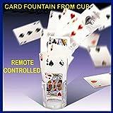 【手品 マジック】グラスの噴水カード トランプを飛ばす カード探す カップにカードを検索 51枚カード ステージマジック道具 手品道具