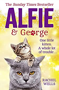 Alfie and George: A heart-warming tale about how one cat and his kitten brought a street together by [Wells, Rachel]