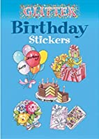 Dover Books DOV-43939-9 Glitter Birthday Stickers [並行輸入品]