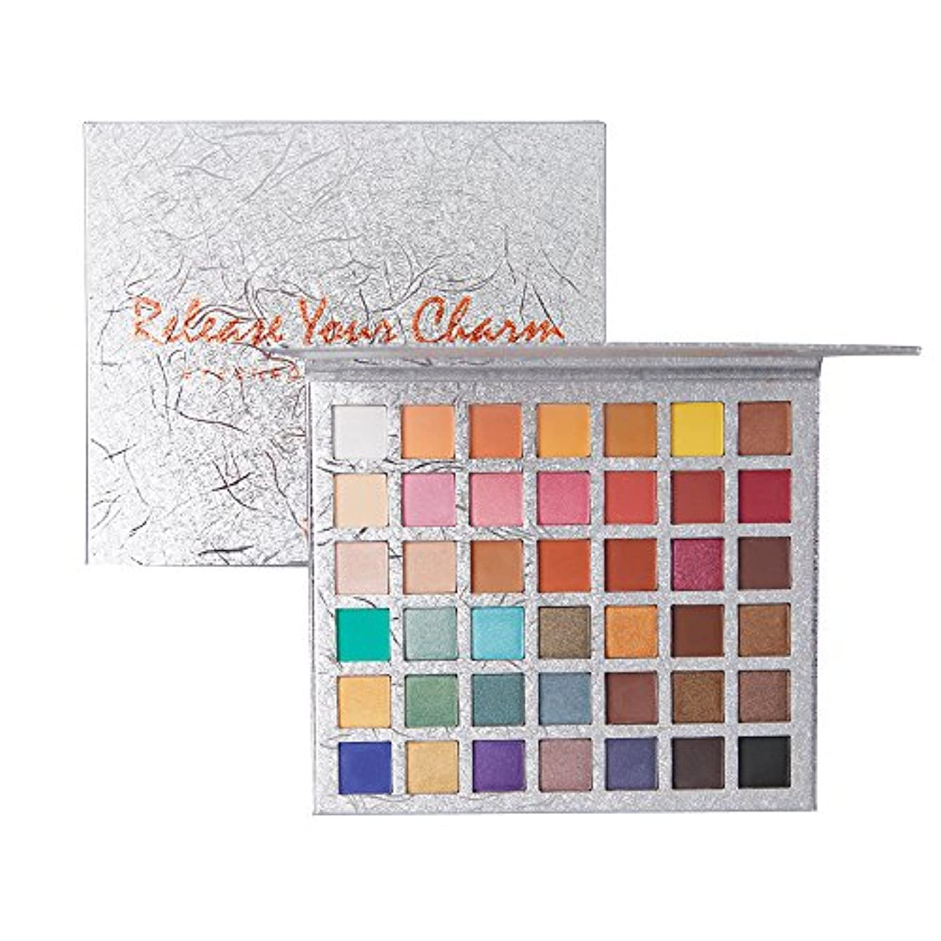 有益めまい面白い42色アイシャドウパレット美容メイクシマーマットギフトアイシャドウ化粧品