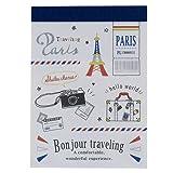 Bonjour Traveling[メモ帳]ミニミニメモ/2017SS カミオジャパン 文具 おしゃれ グッズ 通販