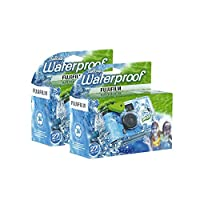 Fujifilm Disposable QuickSnap Waterproof Pool Underwater 35mm Camera, Pack of 2 by Fujifilm