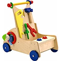 Haba Walk Alongアクティビティツールカート – Wooden push toy for ages 10か月とUp