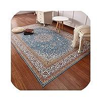 ペルシャ絨毯リビングルーム用大200X290Cmベッドルームカーペットクラシックトルコラグ家庭用コーヒーテーブルフロアマットスタディエリアラグインカーペット自宅と庭から、170727B、2000Mm X 2900Mm