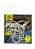 金龍 ジギングフック NIQ PRO-Z シルバー 20