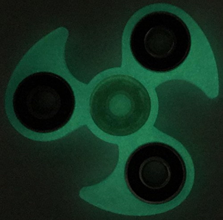 グローin theダークFidget Toy for Children。High Speed 3 – 5 Min。Figit Handスピナーアンチストレスリリース大人用Muticolorスチールまたはセラミック軸受。