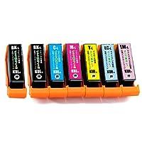 EPSON KUI-6CL 6色 +BK 増量版 クマノミ (BK/C /M/Y / LC/LM) エプソン 互換 インクカートリッジ 【インク革命製】 残量検知機能ICチップ付き KUI 対応プリンター : EP-879AB EP-879AR EP-879AW EP-880AB EP-880AN EP-880AR EP-880AW