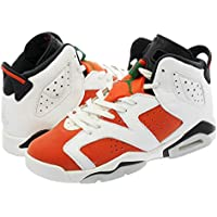 [ナイキ] NIKE AIR JORDAN 6 RETRO BG SUMMIT WHITE/BLACK/TEAM ORANGE 【GATORADE】 [並行輸入品]