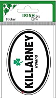 Irish County Oval Sticker Killarney