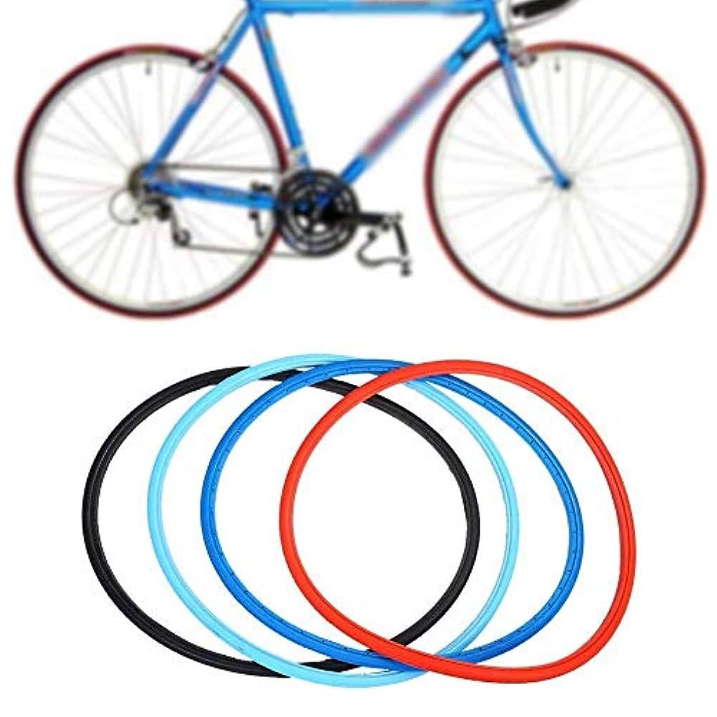 誤解する作成する象自転車タイヤ 700 x 23 c 固体タイヤ ロード マウンテン バイク サイクリングの ための 固定ギア 3色