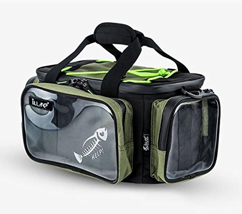 ヘロインダイバー息を切らしてShuguan釣りストレージバッグ簡単に持ち運びポータブル釣りバッグ、釣りストレージギアパッケージ