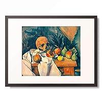 ポール・セザンヌ Paul Cezanne 「Nature morte au crane」 額装アート作品