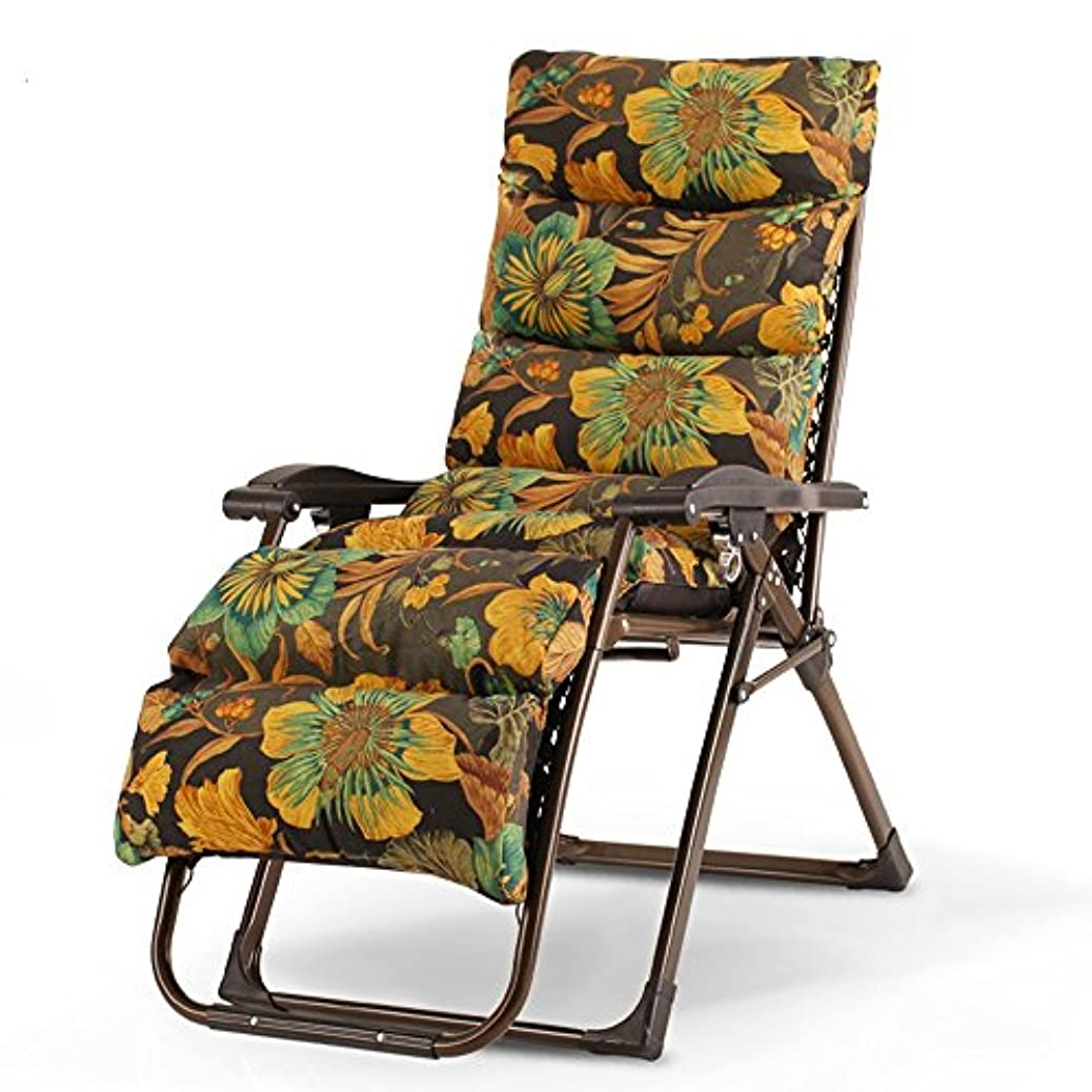 行動近く集団Super Kh® 折りたたみ椅子ガーデンラウンジチェアオフィスの昼寝椅子レジャー怠惰なソファの家妊娠中の女性肘掛け椅子 (色 : D)