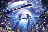 1000ピース ジグソーパズル ラッセン ジャーニー トゥ ギャラクシー 【光るパズル】(50x75cm)