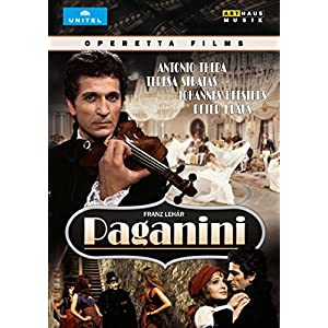 Lehar: Paganini [DVD] [Import]